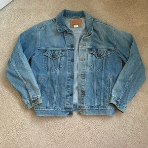 Levis relaxed denim jacket